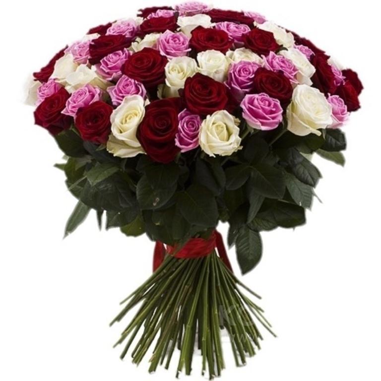 Букеты из 55 роз, детском саду умер